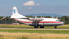 Antonov An-12BK UR-CAK Ukraine Air Alliance (UAA) (William Musculus) Tags: aircraft spotting airport strasbourg entzheim aeroport sxb lfst urcak ukraine air alliance uaa antonov an12bk william musculus