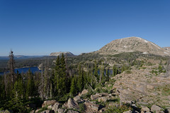 Toward Wall Lake from Notch Pass (Brandon Rasmussen) Tags: utah uintawasatchcachenationalforest uintas uintamountains notchmountain ibantiklake hiking nature landscape nikond7100 nikkor1224mmf4g 1224f4