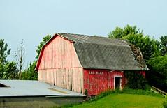 Red Barn - Oxford, Wisconsin (Cragin Spring) Tags: wisconsin wi midwest unitedstates usa unitedstatesofamerica rural farm barn redbarn red oxford oxfordwi oxfordwisconsin