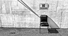 """""""Electric Chair"""" (Halvorsong) Tags: signs wall walls texture textured old oldschool classic america americana city urban road roadside downtown nashville street streetphotography art phorography composition contrast explore discover wow black white monochrome blackandwhite bw blackwhite blackandwhitephotography unique uniquity halvorsong"""