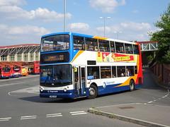 Stagecoach 18316 Mansfield (Guy Arab UF) Tags: stagecoach east midlands 18316 yn05xng dennis trident alexander alx400 mansfield bus station nottinghamshire buses