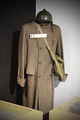 French Prisoner Uniform - Great Escape Museum (big_jeff_leo) Tags: greatescape ww2 secondworldwar pow military
