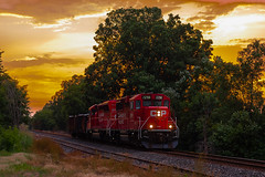 Canadian Pacific H55 (shawn_christie1970) Tags: medina minnesota unitedstates us summer sunset h55 cp2298 cp5045 cppaynesvillesub emd gp20ceco sd30ceco local hamel evening