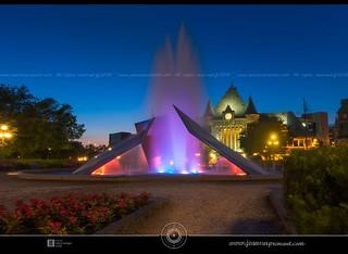 Gare du palais blue hour DRI