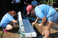 2018_YA_Louisville Habitat 34 (TAPSOrg) Tags: taps tragedyassistanceprogramforsurvivors youngadult habitatforhumanity lousiville kentucky build 2018 military outdoor horizontal playground candid women