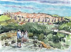 Murallas de Ávila (P.Barahona) Tags: avila murallas ciudad arquitectura paisaje cielos familia gente valle