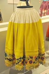 Textiles Peru Huancayo Falda Skirt (Teyacapan) Tags: andean textiles peruvian skirts falda museum huancayo embroidered