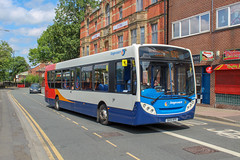 Stagecoach Manchester SK15HFR (Mike McNiven) Tags: stagecoach manchester wigan alexanderdennis enviro300 kingstreetwest wigantowncentre highfieldgrange circular