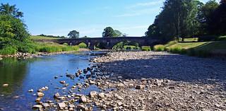 Edisford Bridge at 'Low Tide'