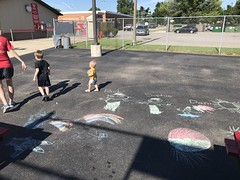 """Paul, Sophie, and Dani in Chalk • <a style=""""font-size:0.8em;"""" href=""""http://www.flickr.com/photos/109120354@N07/43548916161/"""" target=""""_blank"""">View on Flickr</a>"""