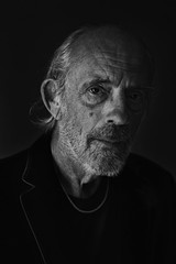 Christopher Lloyd (.Betina.) Tags: portrait portraiture monochrome mood mono actor christopherlloyd doc betinalaplante face backtothefuture
