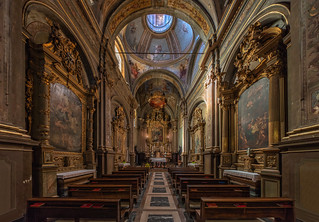 Ivrea church, Italy