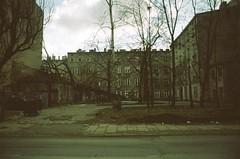 Lodz, after a terrible storm. (eme42) Tags: filmphotography 35mmfilm 35mmcompactcamera canonprimasol lodz poland grain expiredfilm ishootfilm fotografíaanalógica películacaducada
