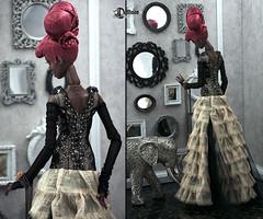 Верстка-2 (Dollfason) Tags: коллекционная кукла шарниная авторская popovy sisters silk fashionfordoll fashiondoll outfit