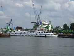 Liberty Ann at Wilhelminahafen Rotterdam (jimcnb) Tags: geo:lat=5189903185 geo:lon=439659118 schiff geotagged schiedam zuidholland niederlande 2018 mai rotterdam nld