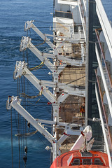 Supports Without their Tenders (dcnelson1898) Tags: monaco prinipality europe frenchriviera mediterraneansea cruise travel vacation hollandamericaline oosterdam