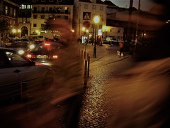 Tender is the night (*F~) Tags: lisboa lisbon portugal memory light night people ghosts movement motion time life