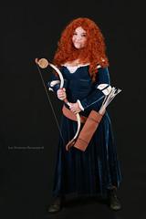 Princess Merida (Lon Winchester Photography) Tags: princessmerida cosplaycontest hanamachiday canoneos5dmarkiii sigma85mmf14artdghsm cosplay childrenportrait