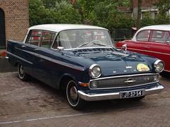 1960 Opel Kapitän (harry_nl) Tags: netherlands nederland 2018 vianen opel kapitän jt3754 sidecode1