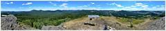 360°-Panorama vom Mittenberg (Christoph Bieberstein) Tags: tschechien tschechische republik böhmen nordböhmen česko ceská republika severní czech republic bohemia lužické hory lausitzer bergland střední vrch hranáč mittenberg matterhorn