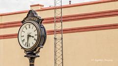 Whitmire Time (augphoto) Tags: augphotoimagery clock outdoors whitmire southcarolina unitedstates