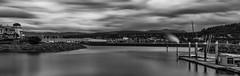 Bellingham Skyline (sunrisesoup) Tags: bellingham wa usa skyline summer longexposure 2018 bellwether waterwaypark cityhall mbt mountbakertheatre downtown georgiapacific sailing youthsailing hotel 16stop nd sony a7r3 a7r¡¡¡ sunrisesoup
