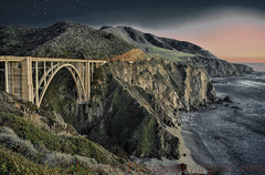 Bixby Creek Bridge Big Sur California (LOURENḉO Photography) Tags: joelourenco bixby bridge bigsur california night beautiful sanfrancisco sanjose