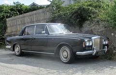 1969 Bentley T (occama) Tags: vyb9g bentley t black 1969 old car cornwall uk rolls royce series limousine british