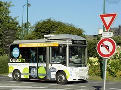 Bolloré Bluebus n°102 (ChristopherSNCF56) Tags: qub city qubcity navette bus bluebus electrique quimper transport urbains bolloré