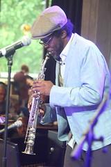 Steve Williamson Trio (2018) 01 - Steve Williamson (KM's Live Music shots) Tags: jazz greatbritain stevewilliamson sopranosax saxophone ligetiinwonderland fridaytonic southbankcentre
