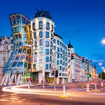 _MG_5096 - The Dancing House in blue hour thumbnail