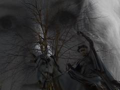 I EXIST BECAUSE YOU BELIEVE IN ME (Poppy Cocqué ♥) Tags: ap poppy poppycocqué portrait selfportrait selfie warriorprincess horse tree art artwork banbury