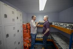 20.06.18 Prefeito vistoria  unidades de saúde fluviais