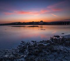 College view (Through Bri`s Lens) Tags: riveradur shorehamtollbridge lancingcollege hightide sunset college bridge brianspicer canon5dmk3 canon1635f4 leefilters