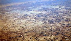 2015_01_18_lhr-lax_083 (dsearls) Tags: 20150118 lhrlax flying aviation windowseat windowshot southdakota laketraverseindianreservation landform geology brown white snow farms agriculture winter prairie frozen relief pleistocene deposits glaciation aerial aerialphotography
