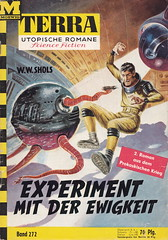 Terra #272 (micky the pixel) Tags: groschenroman pulp heft sciencefiction sf scifi moewigverlag terra wwshols experimentmitderewigkeit roboter robot tentacle astronaut johnnybruck