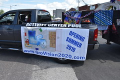 139th Annual 4th of July Parade (Adventurer Dustin Holmes) Tags: 2018 marshfieldmo marshfieldmissouri marshfield missouri event events parade parades outdoor outdoors ozarks july4th 4thofjuly independenceday 139th annual celebration webstercounty midwest truck pickup vehicle banner sign grovision2020 pool activitycenterpool swimmingpool comingsoon 2019