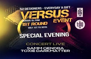 ++SAMM QENDRA & TOXIE DARKMATTER CONCERT LIVE AU +VERSUS+