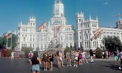 Gente (ciudad imaginaria) Tags: madrid orgullo pride cibeles ayuntamiento arcoiris bandera