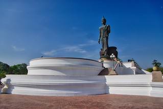 Puttha Monthon, presumably the tallest free standing Buddha statue, in Nakhon Pathom near Bangkok, Thailand
