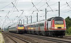 East Coast Main Line - Holme Green (Neil Pulling) Tags: eastcoastmainline biggleswade railway train hst mainline uk trains transport 91107 43367