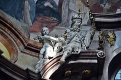 Prag-St.Nikolaus 9 (fotomänni) Tags: prag praha prague kirche church eglise stnikolaus sakralfotografie sakralekunst skulptur skulpturen sculpture manfredweis