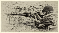 WWII (Simian Photography) Tags: wwii world war 2 ii yorkshire experience reenaction machine gun us infintary