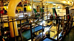 Scotland West Highlands the engine and paddles of the paddle steamer Waverley as she sails through Argyll video 24 June 2018 by Anne MacKay (Anne MacKay images of interest & wonder) Tags: scotland west highlands argyll engine engineer engineers engineroom paddle steamer waverley clyde crew crewmen 24 june 2018 video by anne mackay