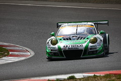 No.7 D'station Porsche with D'station Racing (kikupom) Tags: supergt sgt motorsports race gt300 gt3