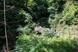 Trip by bike to the Aira Force Waterfalls
