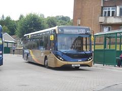 Stagecoach in South Wales 26193 (Welsh Bus 18) Tags: stagecoach southwales stagecoachgold dennis dart slf 5 118m adl enviro200mmc eurovi 26193 yx67vaj tonypandy
