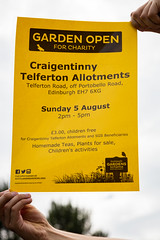 Scotland's Gardens Craigintinney Telferton July 2018 -191 (Philip Gillespie) Tags: edinburgh scotland craigentinny telferton portobello summer gardens park open plants fruit vegetables knitting insects animals trees people men women kids boys girls sky sun clouds colours green yellow blue white black red purple orange rainbow butterflies bees wasp honey pollen water canon 5dsr photography color path walk urban streets sheds plots flags bunting scotlands 2018 tyres bright colourful wet lady birds bugs signs houses