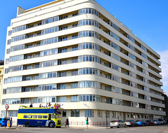 Embassy Court (RapidSpin) Tags: windows seafront towerblock modernist embassycourt brighton artdeco architecture flats apartments d500 bus street