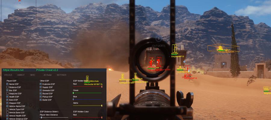 battlefield 1 ps4 aimbot hack